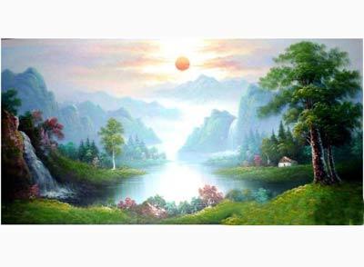 商品油画1-山东淄博艺博壁画厂